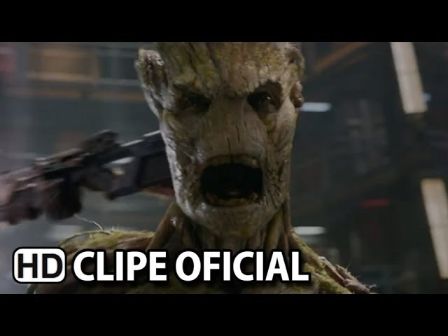 """Guardiões da Galáxia Clipe - Conheça """"Groot"""" Legendado (2014) HD"""