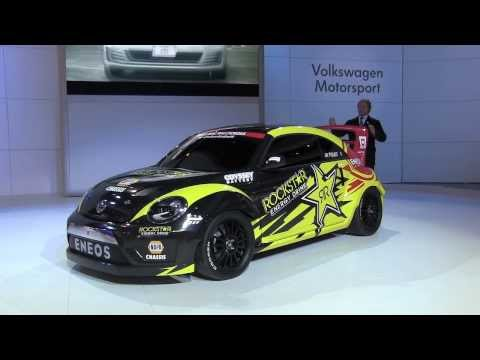 VW GRC Beetle con Tanner Foust y Scott Speed desde el Autoshow de Chicago 2014