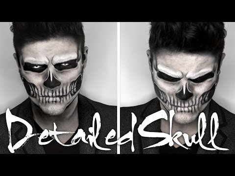 Lady Gaga Skull Makeup | Halloween Tutorial