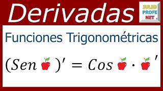 Derivar Funciones Trigonométricas - Reglas