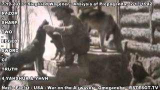 Analysis of Propaganda   2 13 1942   Siegfried Wagener