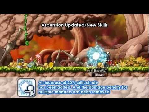 [Maplestory GMS] Ice/Lightning Arch Mage Skills (Ascension Patch)