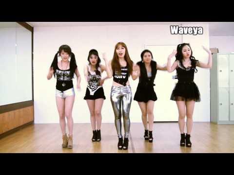 T-ARA N4 티아라 엔포 Jeon Won Diary 전원일기- Waveya 웨이브야 cover dance