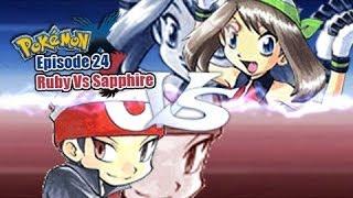 Pokemon X And Y WiFi Battle: Ruby Vs Sapphire