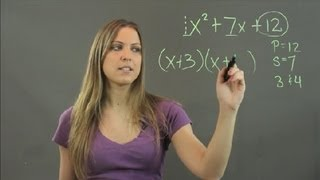 What Is the Easiest Way to Factor Out Trinomials? : Math Instruction