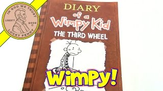 Diary Of A Wimpy Kid 2012 Book The Third Wheel, Jeff