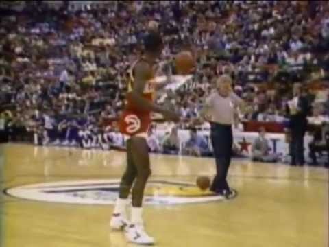 Dominique Wilkins - 1985 NBA Slam Dunk Contest (Champion)
