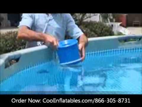 Intex Pool Surface Skimmer Setup Instructions Youtube