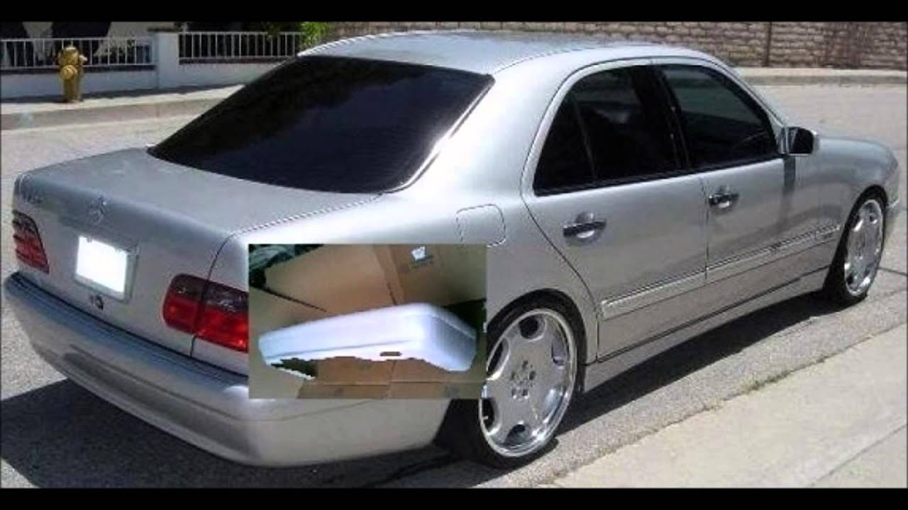 mercedes e class w210 tuning body kit youtube. Black Bedroom Furniture Sets. Home Design Ideas