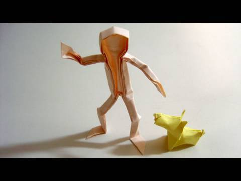 how to make origami person 28 images image gallery