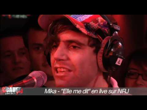 """Mika - """"Elle me dit"""" (live NRJ)"""