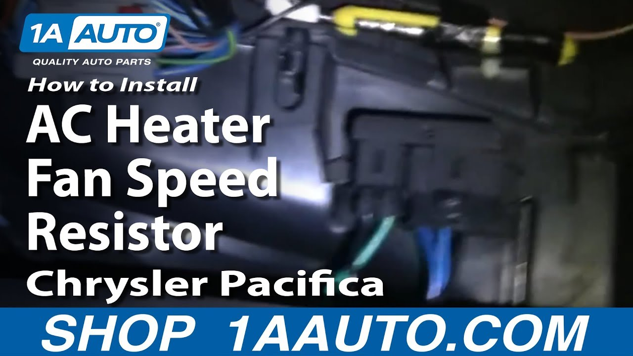 How to change out a chrysler 300m heater actuator autos post for Chrysler pacifica blower motor resistor