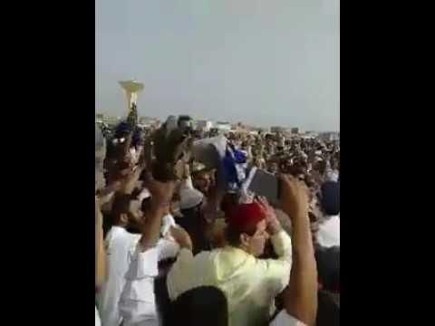 صخب واحتجاج في بوجدور على إمام صلاة العيد