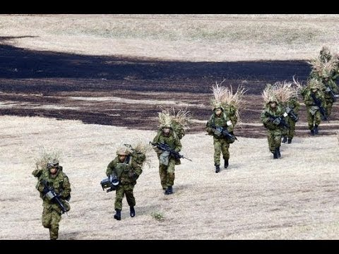 China VS Japan Army Japan self defense forces conduct island assault drill near Diaoyu Islands