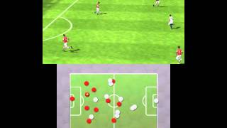 FIFA 13 3DS Gameplay Video Arsenal Vs Chelsea