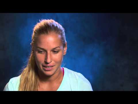 Dominika Cibulkova interview (quarterfinal) - 2014 Australian Open