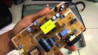 LCD Monitor LAyar Gelap (backlight Mati)