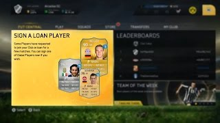 FIFA 15 Ultimate Team News & Screenshots LOAN PLAYERS