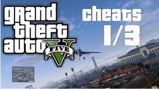 Grand Theft Auto 5 (GTA V) CHEATS Part 1/3! [Deutsch/HD