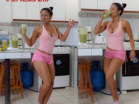 Jugo Desintoxicante y quema grasa de piña, apio, pepino -  Detoxifying Juice burns fat