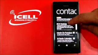 Nokia Lumia 505 ¿Cómo Integrar Redes Sociales?