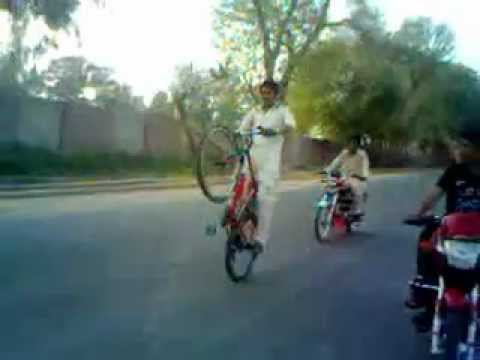 Saim Ali Pirmahal Cycle Wheeling