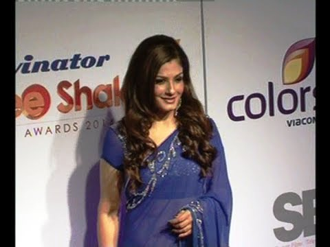 Raveena Tandon @ Stree Shakti Women Awards 2014.