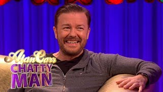 Ricky Gervais - Full Interview on Alan Carr: Chatty Man