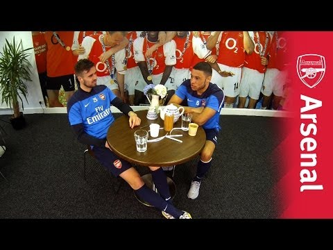 The Chat |  Alex Oxlade Chamberlain & Carl Jenkinson