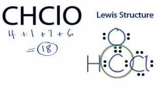 CHClO Lewis Structure: How To Draw The Lewis Structure For