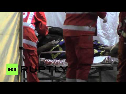 Italy: Migrants require emergency medical care after fleeing conflict zones