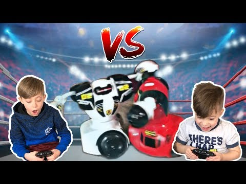 Battle Robots Toys | Family fun Playtime