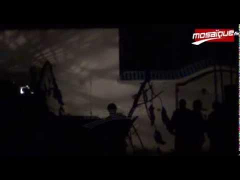 image vidéo فيديو حصري للمواجهات في روّاد