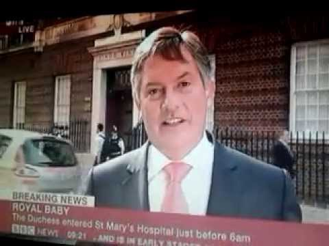 Some Reporters Are Getting Tired Of Royal Baby