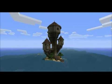 [Minecraft Timelapse] The Wizard Island
