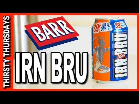 IRN BRU from BARR - Thirsty Thursdays
