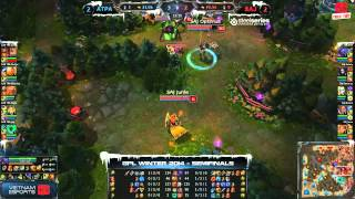 [GPL 2014 Mùa Đông] [Bán Kết 1] [Game 5] Saigon Jokers vs Azubu Taipei Assassins [18.12.2013]