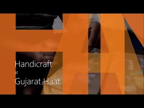 Handicraft at Gujarat Haat