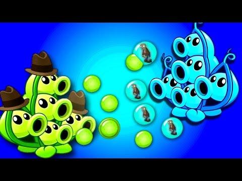 █▬█ █ ▀█▀ Plants vs Zombies 2 Pea Pod vs 16x Zombies: Showcase