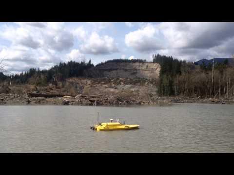Oceanscience Z Boat 1800SS Tritech StarFish Oso Mudslide Disaster 2014