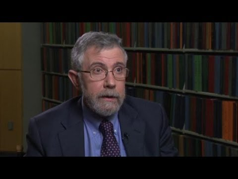 Paul Krugman: Inequality Actually Bad for Growth