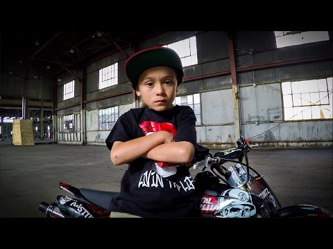 GoPro: AJ Stuntz - The 6-Year-Old Stunt Rider