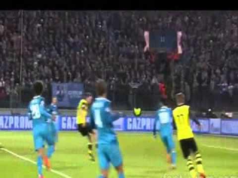 Zenit St. Petersburg 2 -- 4 Borussia Dortmund- Marco Reus best score 2014
