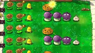 Let's Play Plants Vs Zombies 57 Supervivencia: Dia