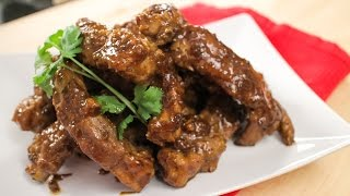 Honey Soy Glazed Ribs Recipe - Hot Thai Kitchen!