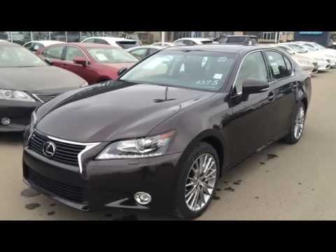 2014 Lexus GS 350 AWD - Technology Plus Package Review - Edmonton