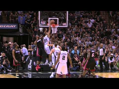 Top 10 Dunks of the 2013-2014 Finals