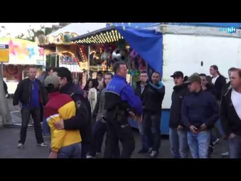 Gespannen sfeer op de kermis van IJmuiden