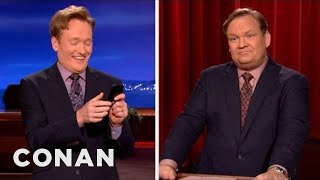 Conan Steals the Presidential Debate Splitscreen