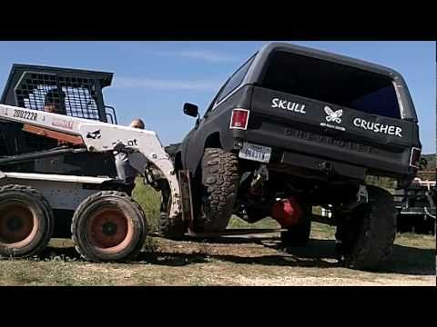 "MY GMCJIMMY CRUSHER EDITION  56"" springs ((Bobcat FLEX TEST))"